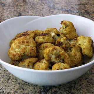 4-Ingredient Curry Roasted Cauliflower.