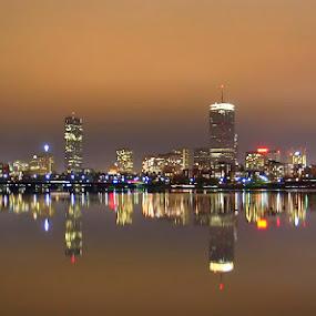 Boston, MA by Jerzy Szablowski - City,  Street & Park  Skylines ( canon, boston, usa )