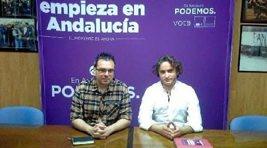 Raúl Quinto, candidato a las primarias de Podemos por Almería