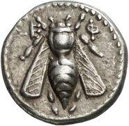 Image result for roman bee coin