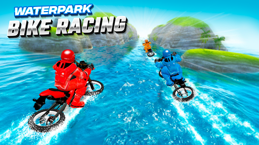 Waterpark Bike Racing 1.0 screenshots 8