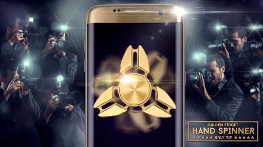 Golden fidget hand spinner 1.1 screenshots 1