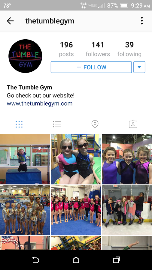 The Tumble Gym- screenshot