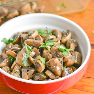 Catalan Mushrooms with Garlic and Parsley.