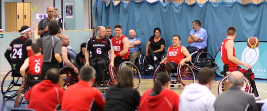 Photo: Photo taken during day two of the 2015 PlayOffs, 31 May 2015, and Championship Final the match between CELTS 1 (Champs of 2nd Div South) and Tees Valley Titans (Champs of 2nd Div North) at Worcester Arena.