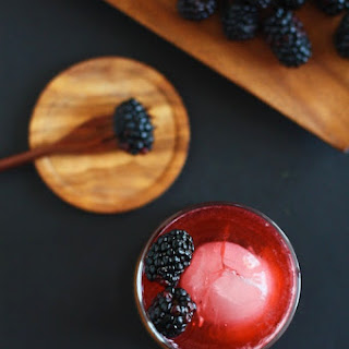 Blackberry Vanilla Mocktail