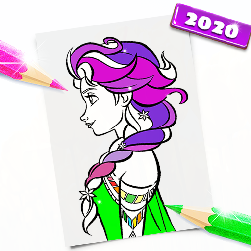 Surprise Dolls Princess Coloring Pages Google Play De Uygulamalar