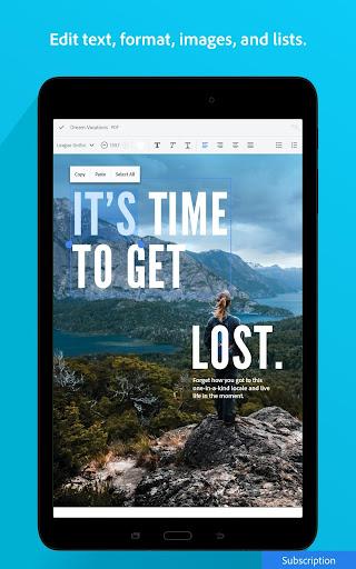 Adobe Acrobat Reader: PDF Viewer, Editor & Creator screenshot 13