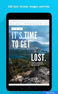 App Adobe Acrobat Reader: PDF Viewer, Editor & Creator APK for Windows Phone