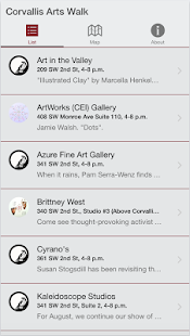 Corvallis Arts Walk- screenshot thumbnail