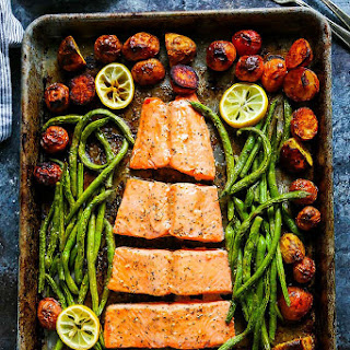 5-Ingredient Sheet Pan Salmon.