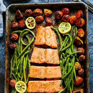 5-Ingredient Sheet Pan Salmon.