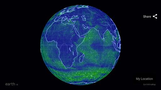 Wind Map ud83cudf2a Hurricane Tracker (3D Globe & Alerts) 2.2.9 Screenshots 13