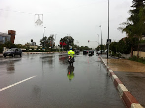 Photo: Raining at Rabat