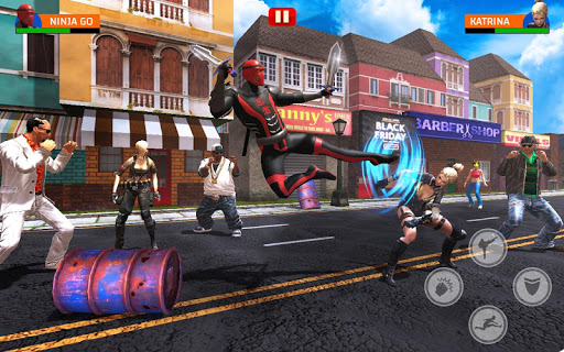 Super Ninja Hero Fighting Game - Kungfu Battle 1.0 screenshots 2