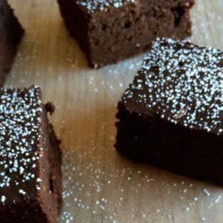 Chocolate Sweet Potato Brownies.