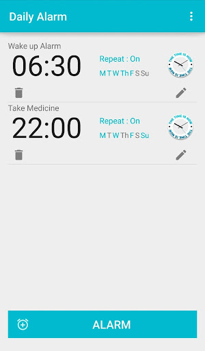 Daily Alarm
