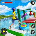 Legendary Stuntman Water Fun Race 3D icon