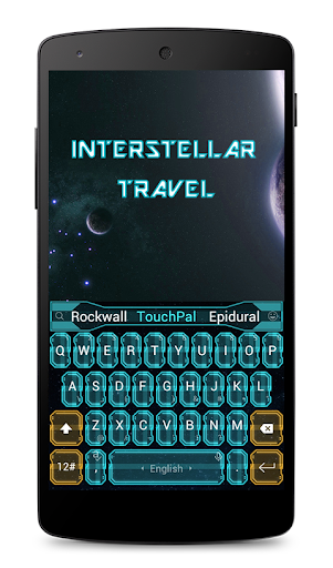 Star Travel Keyboard Theme