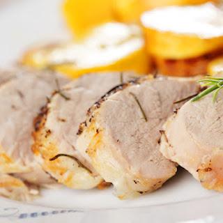 Protein-Packed Almond Pork Tenderloin.