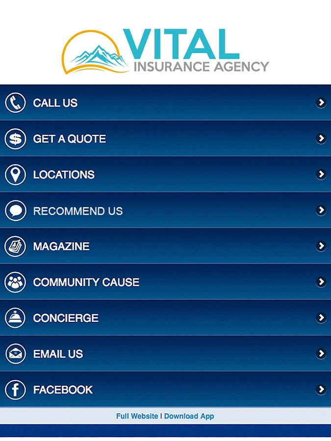 Vital Insurance Agency- screenshot