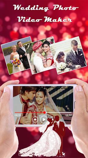 Wedding Photo Video Maker screenshots 1