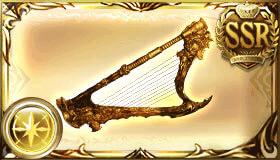 黄金の依代の竪琴