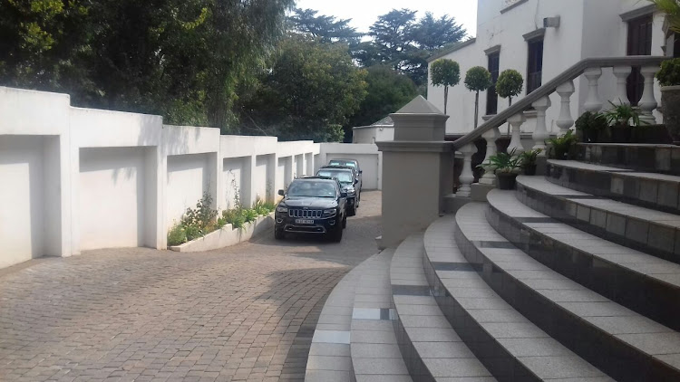 It is believed that government enforcement agencies were going to the house to seize vehicles belonging to the Gupta family.