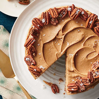 Butter Toffee-Pecan Layer Cake.