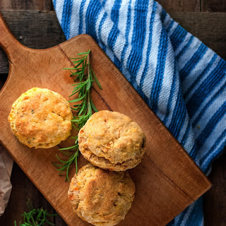 Sweet Potato Rosemary Biscuits