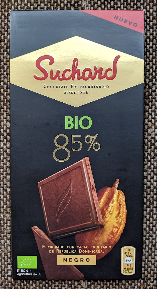 80% suchard bar