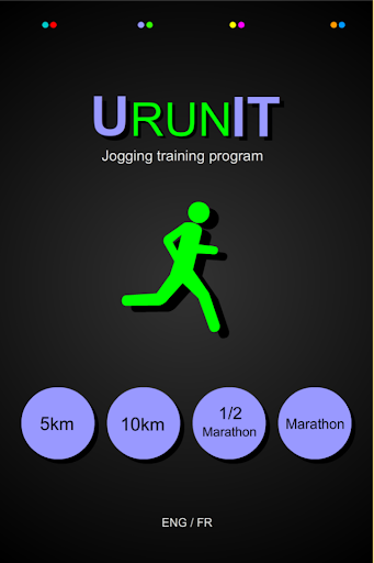 UrunIT jogging training