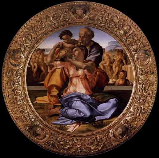 Frame Analysis of Michelangelo's Holy Family #kellybagdanov # homeschool #homeschooling #classicalconversation #charlottemason #classicalconversationresource #classicalconversationcycle1 #charlottemasonpicturestudy #arteducation #arthistory #teachingarthistory #michelangelo #donotondo #holyfamily