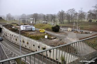 Photo: Blick von der Hängebrücke in Richtung Unterer Schlossgarten