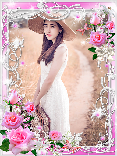 Flower Frame Picture