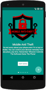 Mobile Anti Theft - náhled