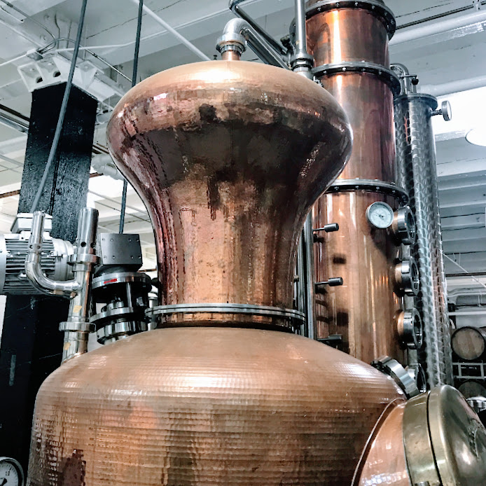Holstein copper pot still