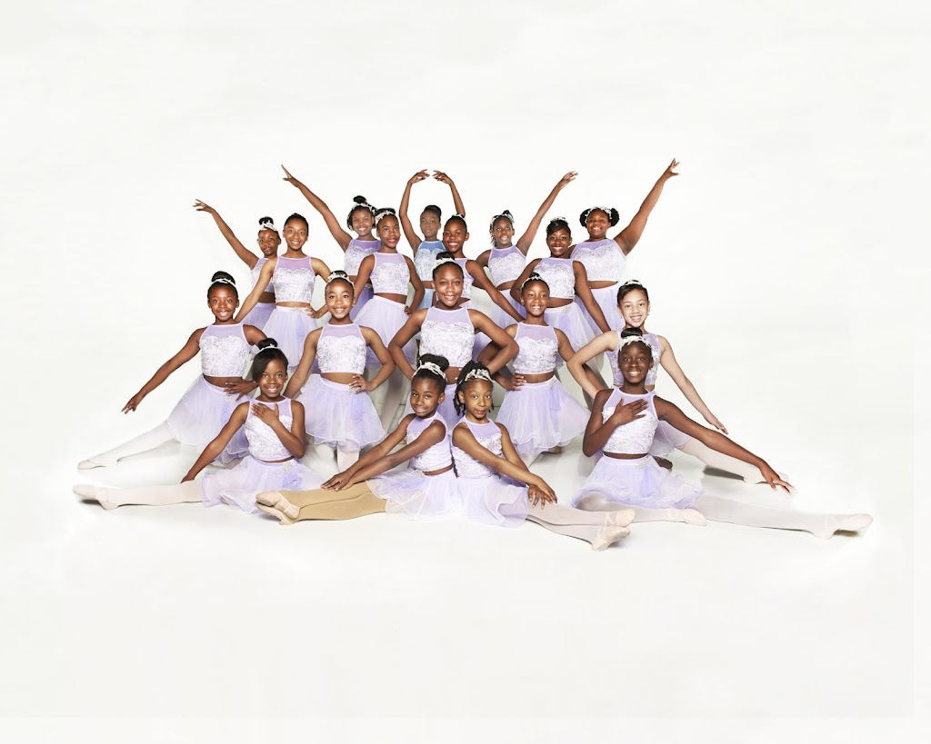 Triple 7 Dance Black Ballerinas