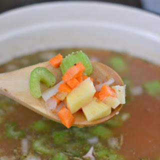Crockpot Vegetable Soup Perfect for a Cold Day