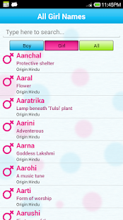 Baby Names And Meanings FREE Screenshot Thumbnail