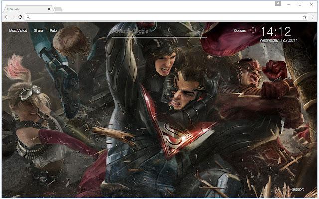 Injustice 2 wallpaper hd new tab themes chrome web store voltagebd Choice Image