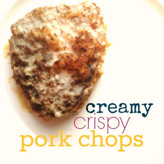 Creamy, Crispy Pork Chops.