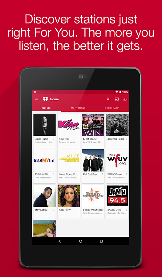 iHeartRadio Free Music & Radio- screenshot