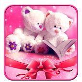 Cute Bear Love Launcher