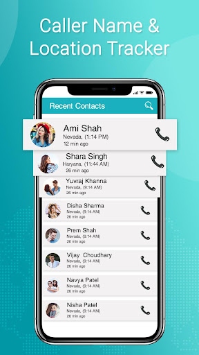 Caller Name & Address Location Tracker 1.0 screenshots 2