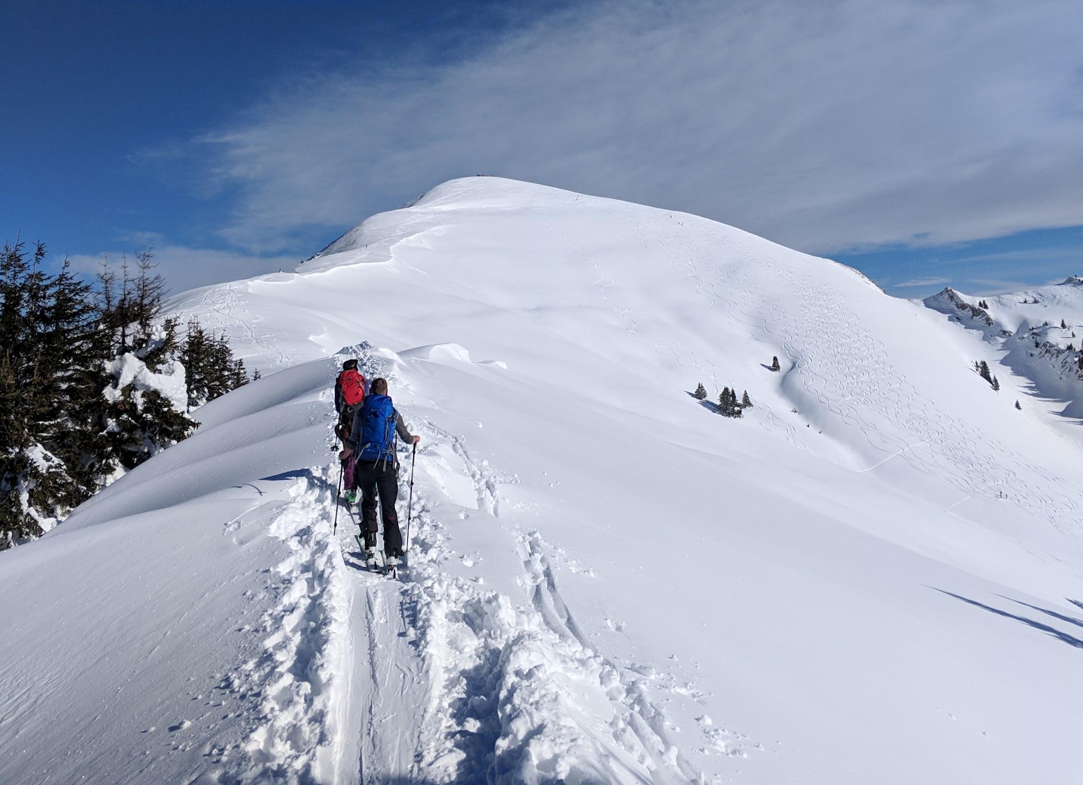 Schönalmjoch - Karwendel skitour - Jan 19