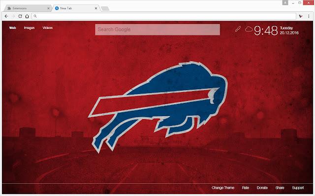 NFL Buffalo Bills Wallpapers HD Custom NewTab