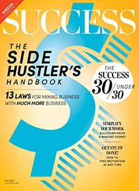 Kindra Hall's storytelling article for SUCCESS magazine