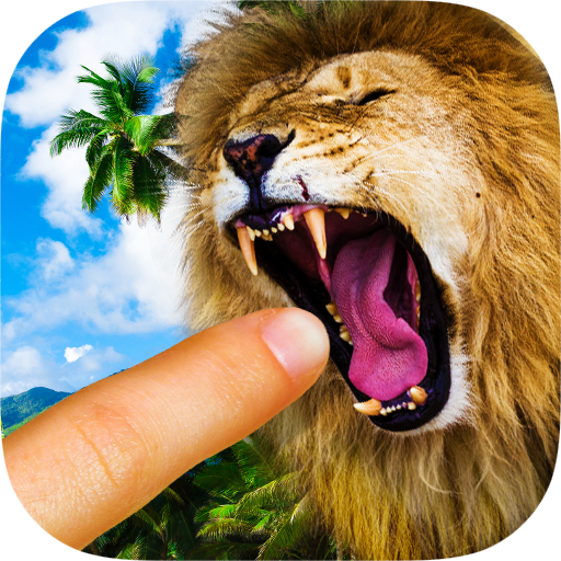 Lion Finger Eater Icon