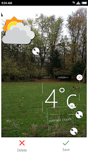 Weather Click - náhled